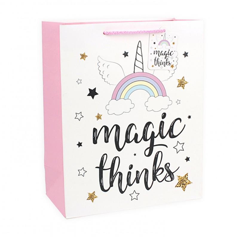 Подарочный пакет Halluci «Magic thinks» L