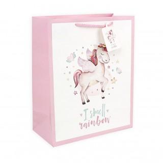 Подарочный пакет Halluci «I smell rainbow» M