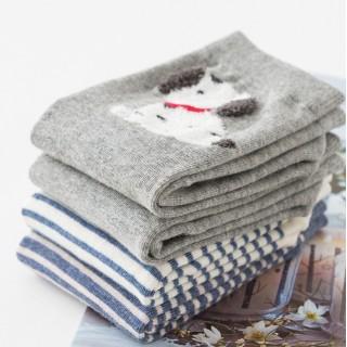 Набор носков «Зимний мишка», 4 пары