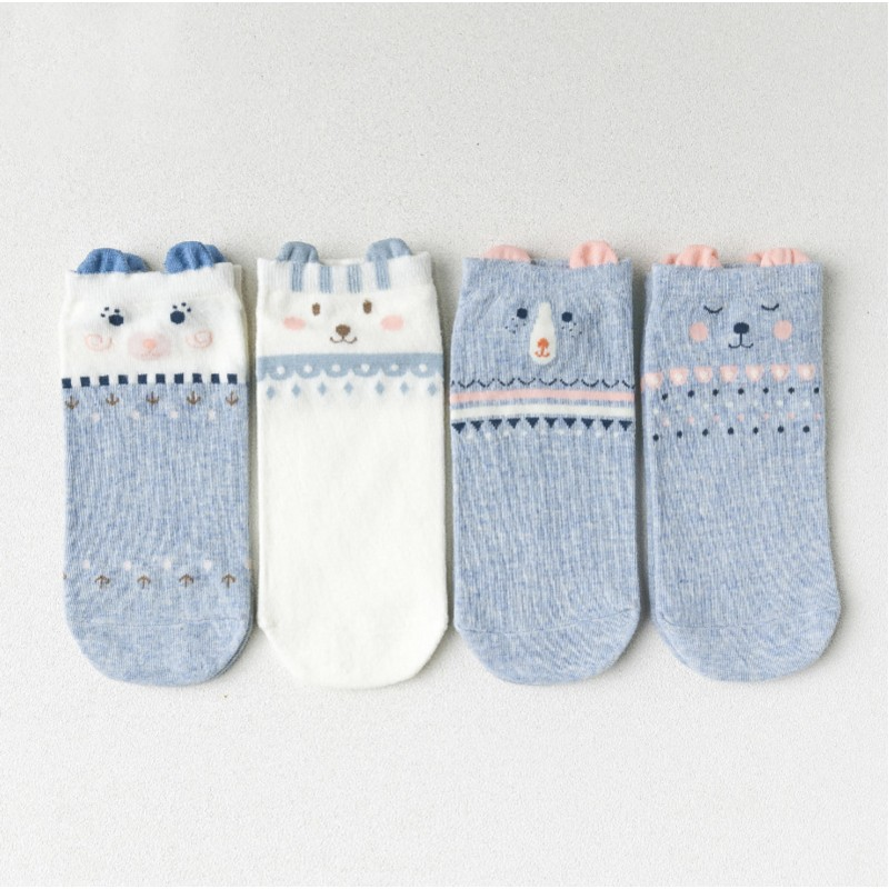 Носки «Зверята» голубые