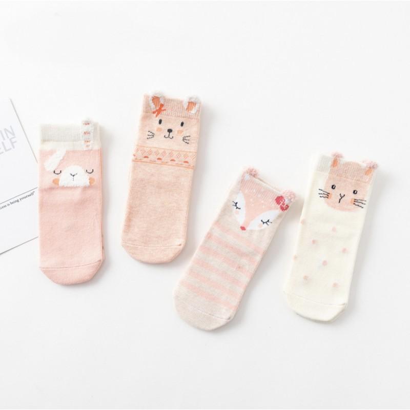 Набор носков «Котенок» в мягкой упаковке, 4 пары