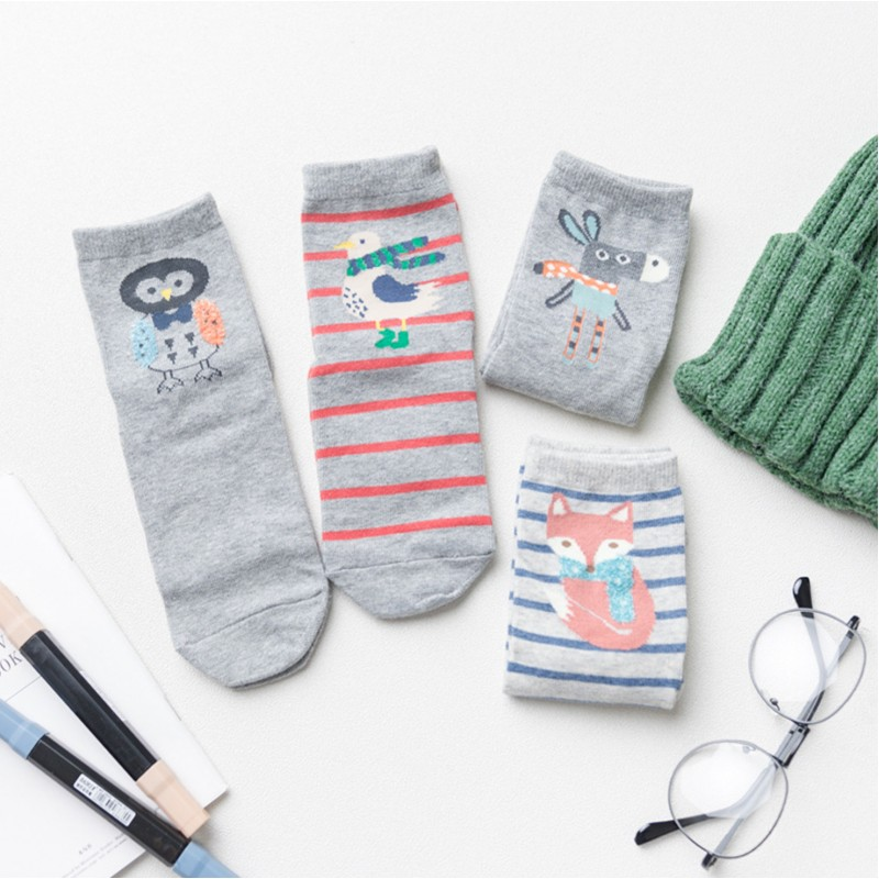 Набор носков «Ослик», 4 пары