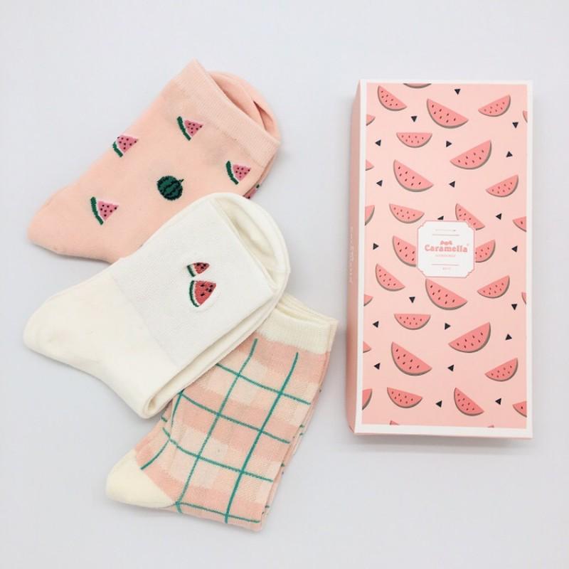 Набор носков «Арбузики», 3 пары