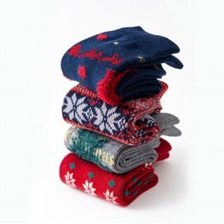 Набор носков «Новогодние-2», 4 пары