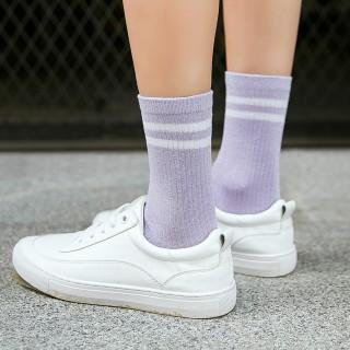 Носки «Спорт» фиолетовые