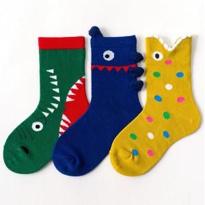 Набор детских носков «Монстрики» в мягкой упаковке, 3 пары