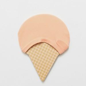 Подследники «Мороженое» персиковые