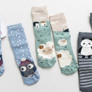 Набор теплых носков «Друзья-2», 3 пары