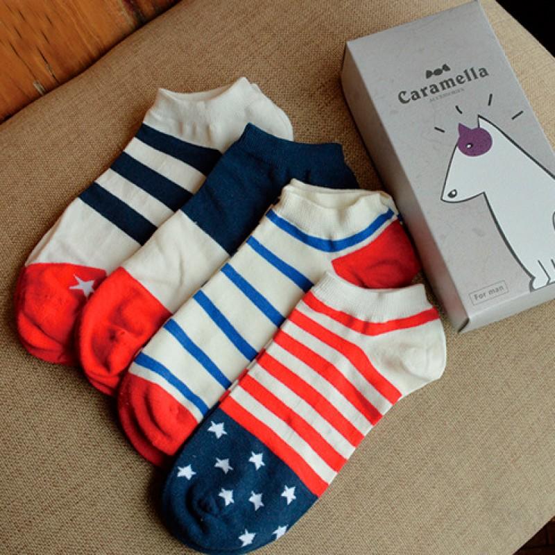 Набор мужских носков «Бультерьер-2», 4 пары