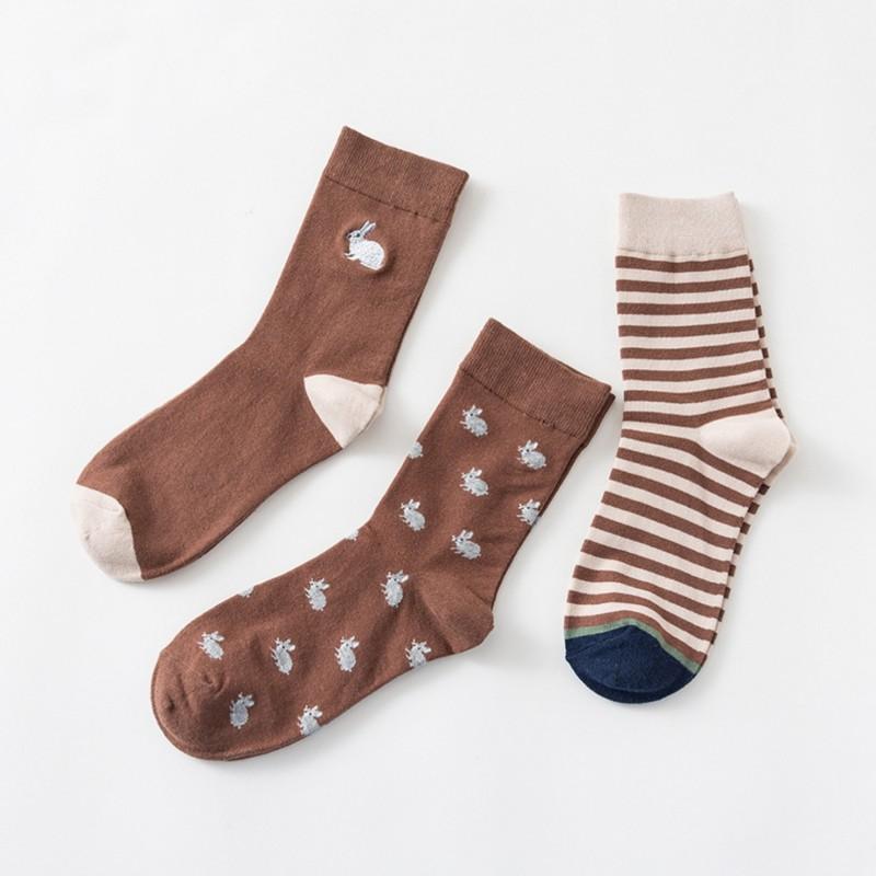 Набор мужских носков «Кролики», 3 пары
