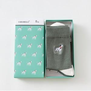 Набор мужских носков «Далматинцы», 3 пары