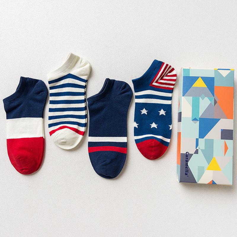 Набор мужских носков «Абстракция», 4 пары