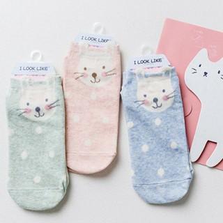 Носки «Кролики» в горошек
