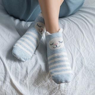 Набор носков «Зайка и сова», 2 пары