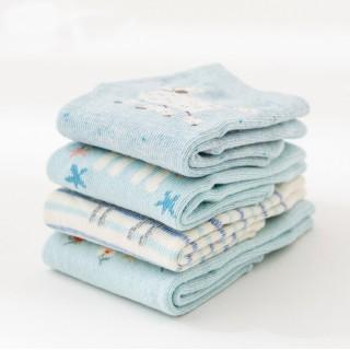 Набор детских носков «Пудели», 4 пары