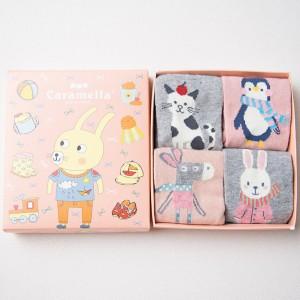 Набор детских носков «Кролик-2», 4 пары