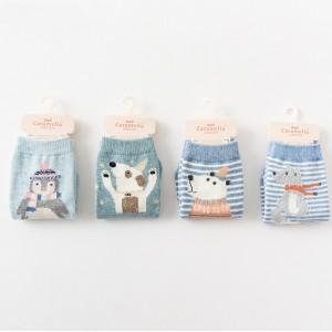 Носки детские «Зимний мишка»