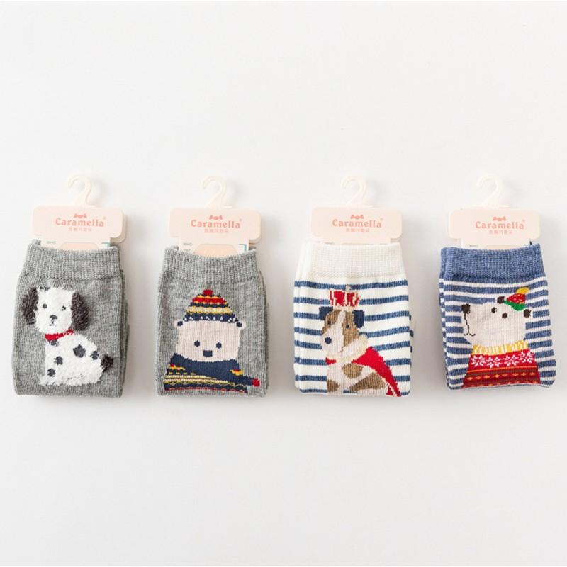 Носки детские «Зимний мишка-2»