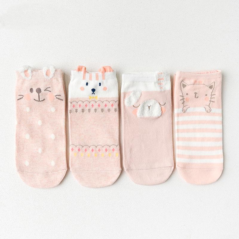 Набор носков «Зайка», 4 пары