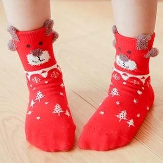 Набор детских носков новогодний «Собачка», 4 пары