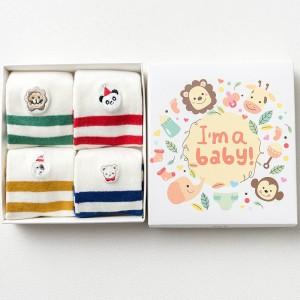 Набор детских носков «I'm a baby», 4 пары