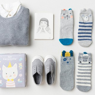 Набор детских носков «Котенок-3», 4 пары