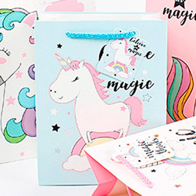 Подарочный пакет Halluci «Believe in magic» L