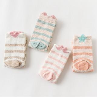 Набор мягких носков «Котик», 4 пары