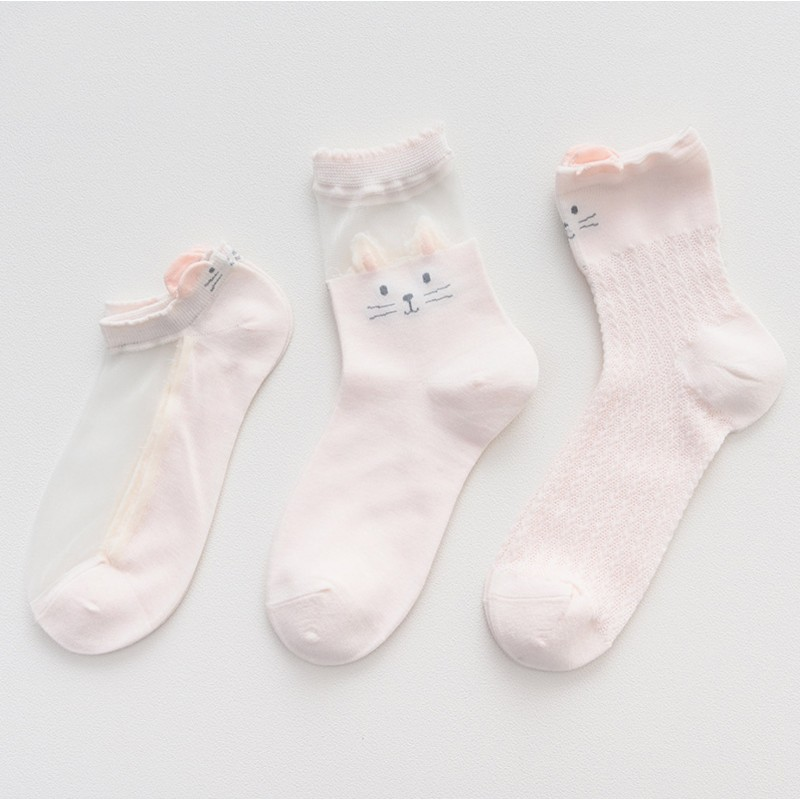 Носки «Нежность» розовые