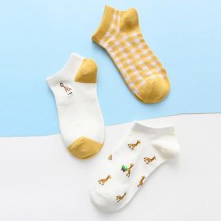 Набор носков  «Жирафы» в мягкой упаковке, 3 пары