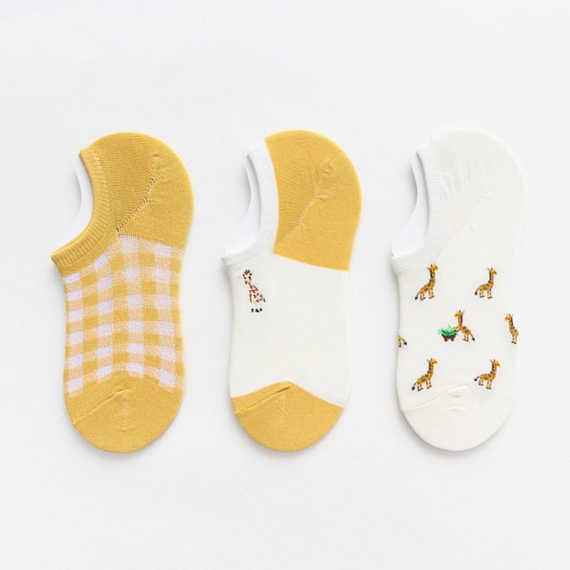 Носки «Жирафы» короткие