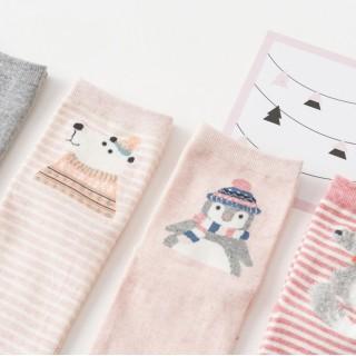 Набор носков «Зимний заяц», 4 пары
