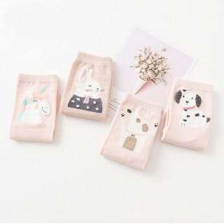 Носки «Милые животные» розовые