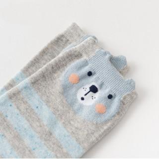 Носки «Милые животные» полоска