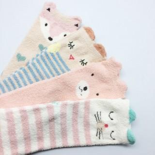 Набор мягких носков «Лисенок», 4 пары