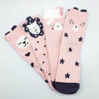 Набор мягких носков «Звездный тигр», 4 пары