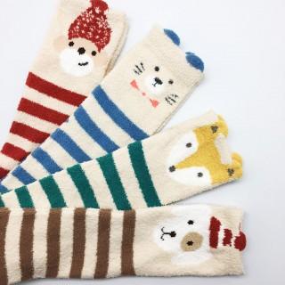 Набор мягких носков «Обезьянка», 4 пары