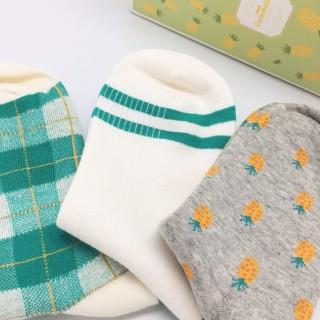 Набор носков «Ананасы», 3 пары
