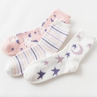 Набор мягких носков «Flamingos-2», 3 пары