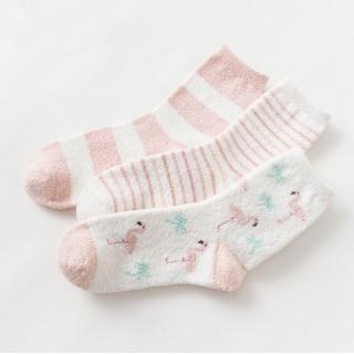 Набор мягких носков «Flamingos», 3 пары