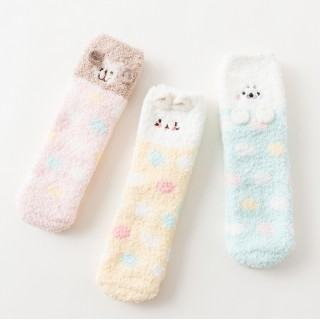 Набор мягких носков «Горошки», 3 пары
