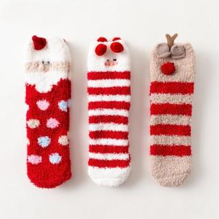Набор мягких носков «Новогодние», 3 пары