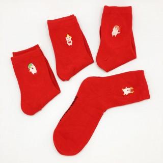 Набор носков «Свинки», 4 пары