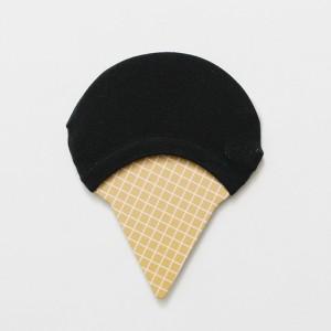 Подследники «Мороженое» черные