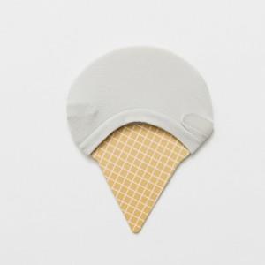 Подследники «Мороженое» серые