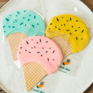 Подследники «Мороженое» горчичные