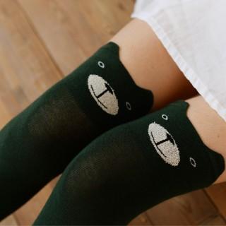 Гольфы «Мишки» зеленые