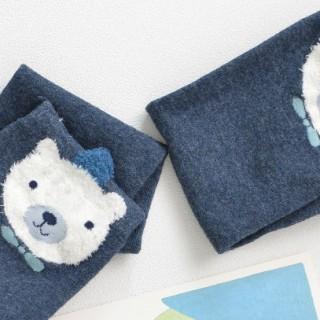 Гольфы детские «Мишка» синие