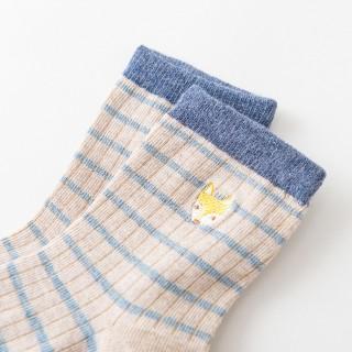 Набор носков «Звери» полосатые, 4 пары