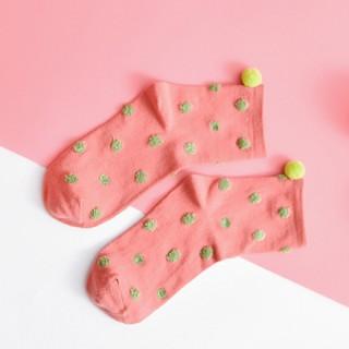 Носки «Шарики» цветные
